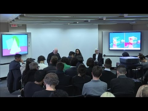 """GSD Talks: """"Emerging Issues in Architectural Representation"""