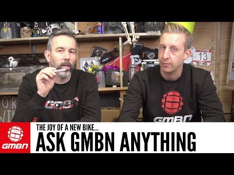 The Joy Of A New Bike | Ask GMBN Anything About Mountain Biking