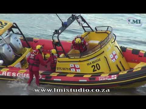 NSRI St 20 rescue at Ski Boat Festival