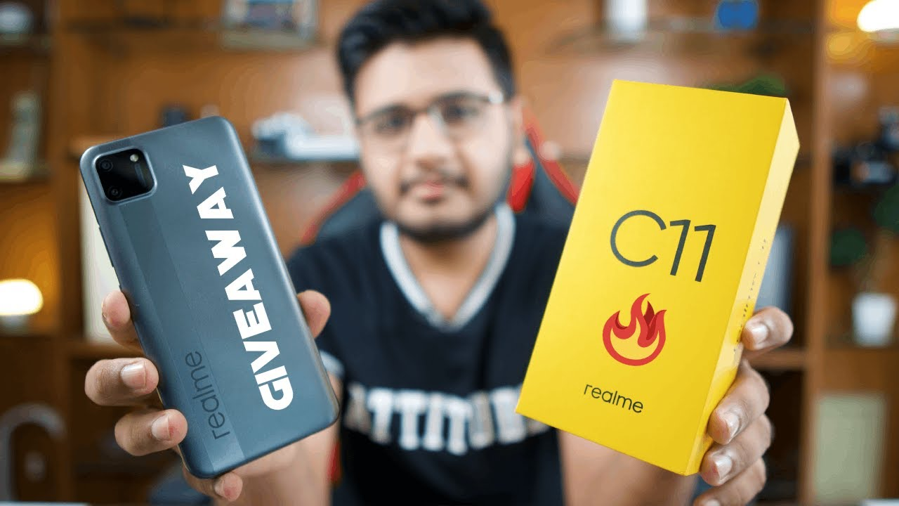 Download realme C11 Unboxing & Giveaway!