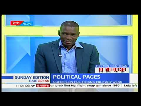 """Chebukati has a right to call off election, or proceed or even suspend some parts"" Carnicius Mesoh"