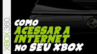XBOX 360 - Como configurar o Xbox para acesso a internet em uma rede sem fio