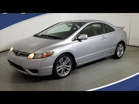 Used 2007 Honda Civic Si Cary For-Sale, NC #ZP30293B