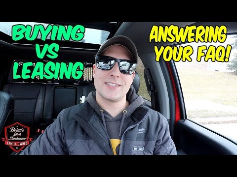 Buying Vs Leasing Lawn Mowers ► Which Makes More Sense? Answering Your FAQ!