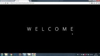 Fly In CSS3 Text Animation || HTML, CSS, jQuery