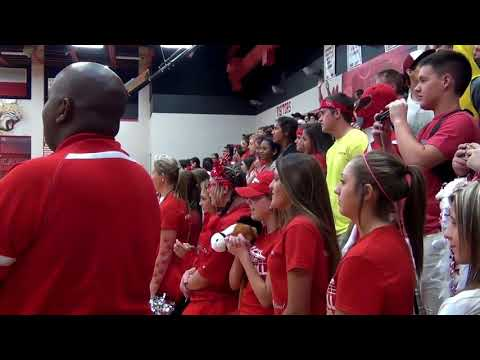 2015 Red Out Pep Rally at Splendora High School