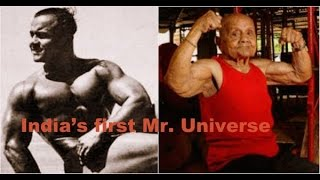 India's first Mr. Universe