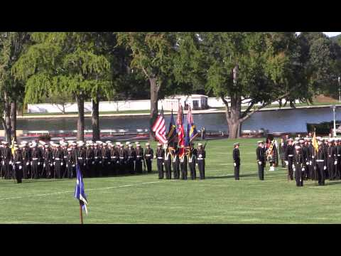 USNA Dress Parade - Sept 26 2014 - Part 1