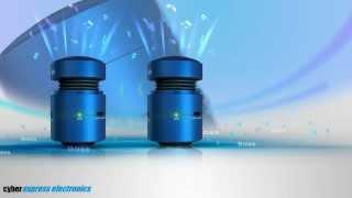 Enceintes Vibrantes Stéréo Bluetooth + NFC Cyber Express Electronics Nouveauté 2014 HD