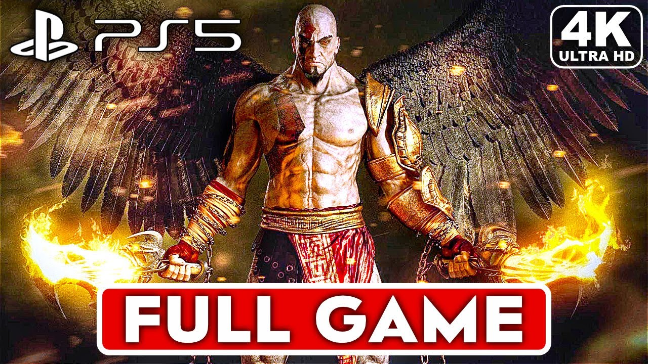 GOD OF WAR ASCENSION PS5 Gameplay Walkthrough Part 1 FULL GAME [4K] - No Commentary