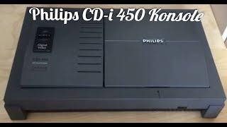 (RP) #1 Philips CD-i Konṡole - Teil 1 - Gerät CDI 450, Zubehör und Spiele (deutsch)