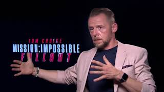 You won't believe who interrupted our interview with Simon Pegg... | Spoiler Alert!