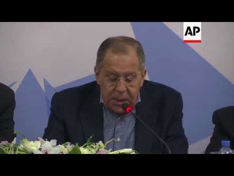 Lavrov on airstrikes on Syria and poisoning of ex-Russian spy