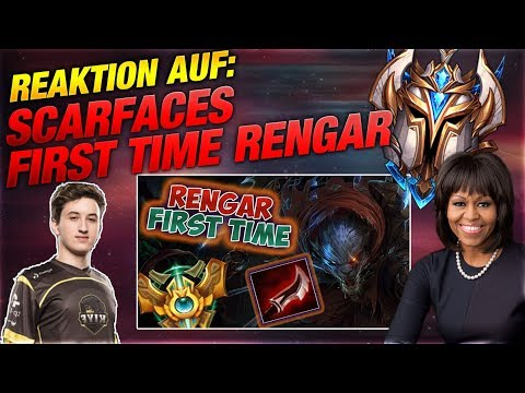 Scarfaces: First Time Rengar! Silphi Reacts [League of Legends] thumbnail