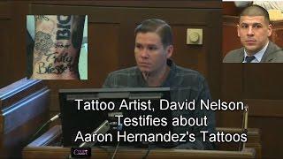 Aaron Hernandez Trial Day 10 Part 1 (Tattoo Artist David Nelson Voir Dire) 03/15/17