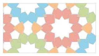 How to draw an Islamic Geometric Pattern - Mamluk Star 2