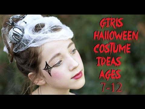 girls halloween costume ideas ages 7 12