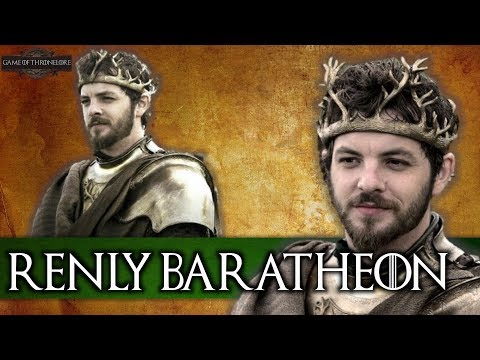 The Entire Life Of Renly Baratheon