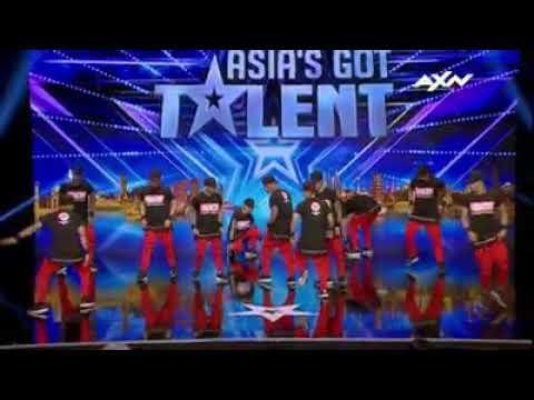 Urban crew Philippines Asias got talent