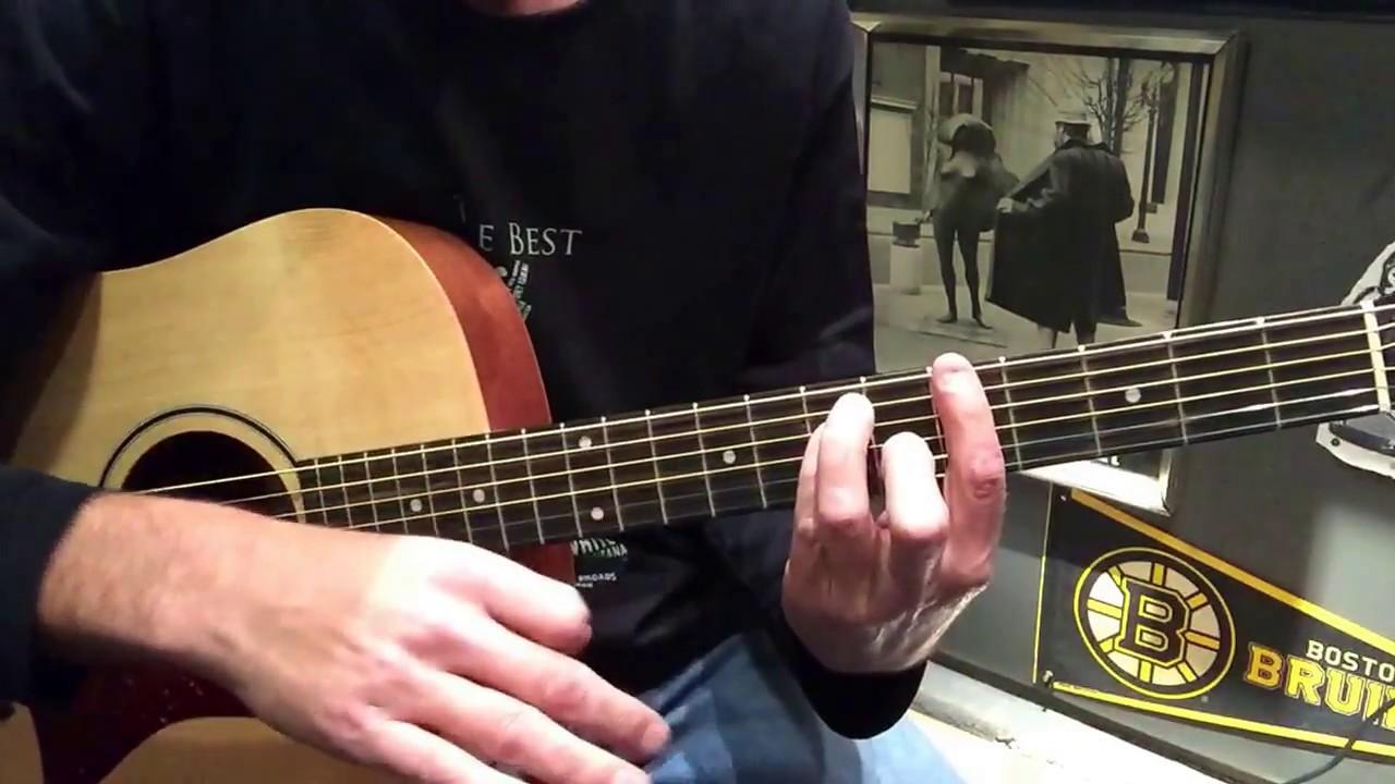Beginner Guitar Lesson Staind Outside Youtube