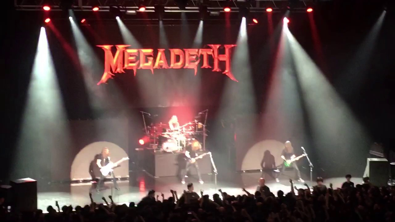 megadeth mechanix live in tokyo dystopia world tour 19may2017 youtube. Black Bedroom Furniture Sets. Home Design Ideas