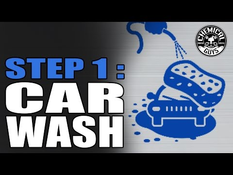 Step 1: Proper Car Wash with Two Bucket Method - Nissan GT-R - Detailing and Car Wash Flowchart