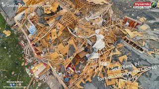 6-24-19 South Bend, IN Tornado Damage/Cleanup/Drone Footage