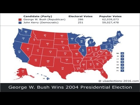 2004 US Presidential Election Result