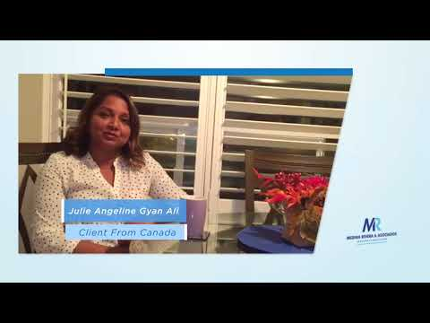 Julie A. Gyan, from Toronto, Canada, tell us about, your experience in Medina Rivera & Asociados,.