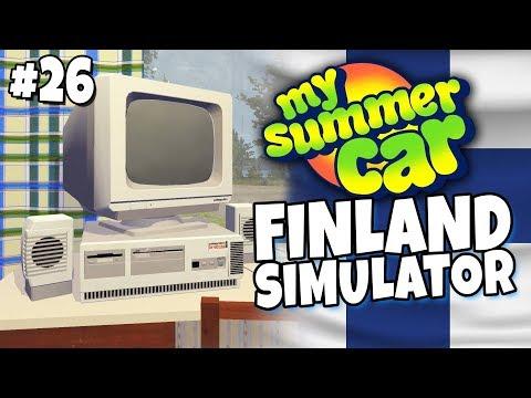 My Summer Car - Finland Simulator #26 - My Summer Computer