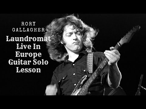 Rory Gallagher Laundromat (Live in Europe) Guitar Solo Lesson