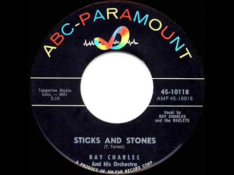 1960 HITS ARCHIVE: Sticks And Stones - Ray Charles mp3