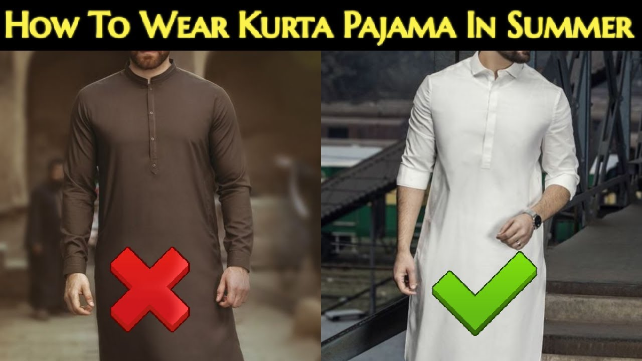 How To Wear Kurta Pajama In Summer | 6 Tips To Wear Kurta Pajama In Summer | Kurta Pajma