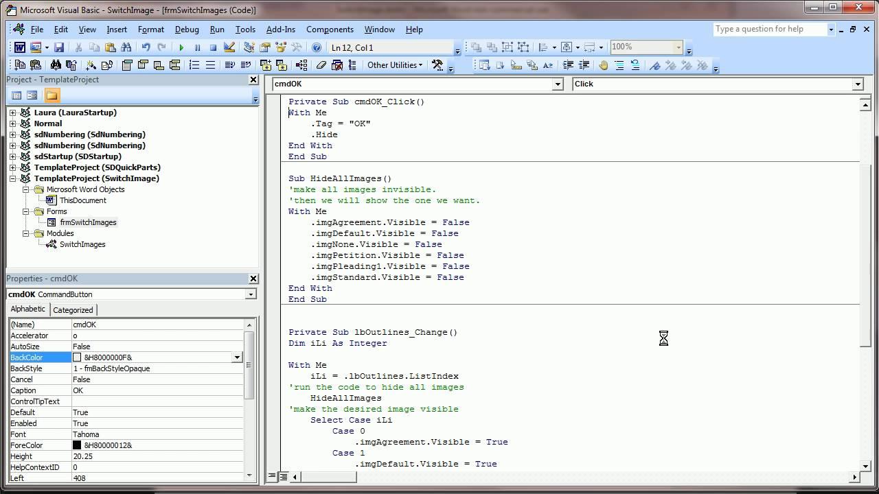 VBA Programming - Click List Box to Change Image