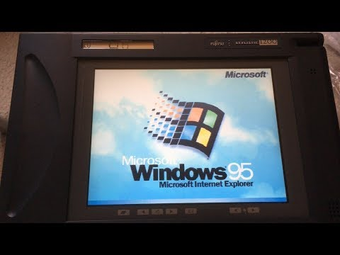 Why you should get a Windows 95 Tablet in 2018