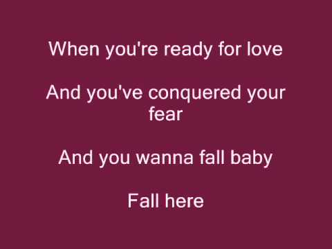 Rascal Flatts- Fall Here Lyrics