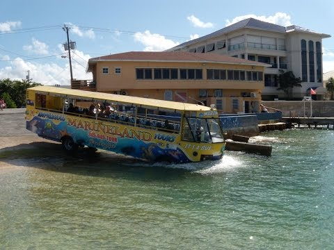 Grand Cayman, Cayman Islands | Amphibious Bus 2015 (Part 1)