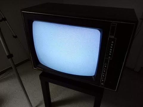 Mediator L Color Automatik D63M608 06 (Philips K6N) vintage PAL color television set all tubes