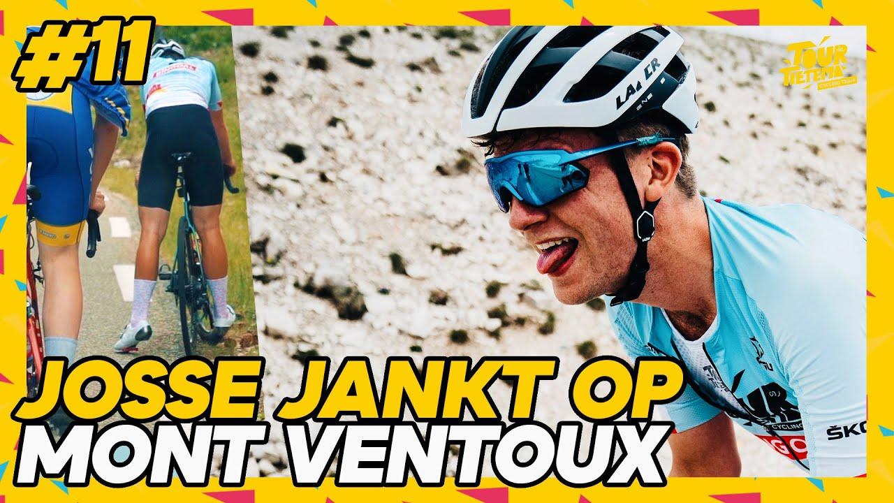 Download 100 MENSEN INHALEN OP MONT VENTOUX? | TOUR DE FRANCE 2021 #11