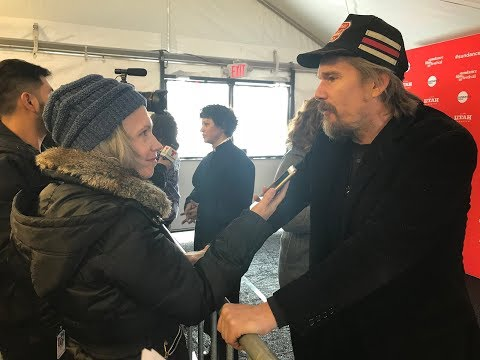 Sundance: A Love Fest with Ethan Hawke and the Cast of His Film, Blaze