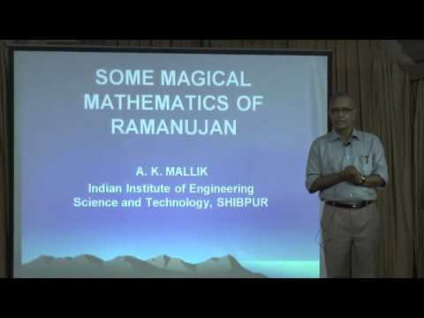 SOME MAGICAL MATHEMATICS OF RAMANUJAN- A K MALLIK (VOL1)