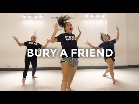 Billie Eilish - bury a friend Dance   besperon Choreography