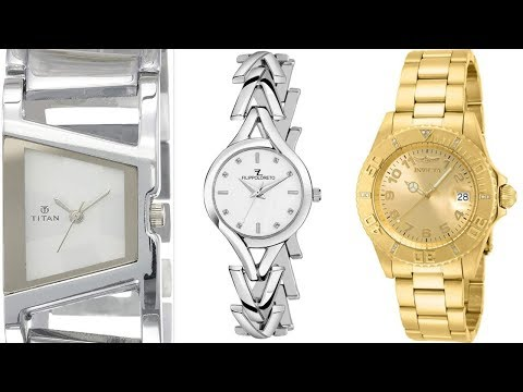 Stylish & Costly Stainless Watches For Women:Amazon Fashion