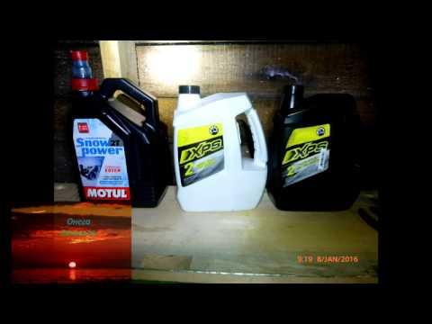 Тест масла для снегохода 2 т. в -30, ч. 2