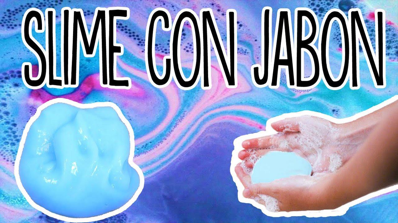 Slime De Jabon Como Hacer Slime Sin Borax Ni Almidon Tutoriales Belen Youtube