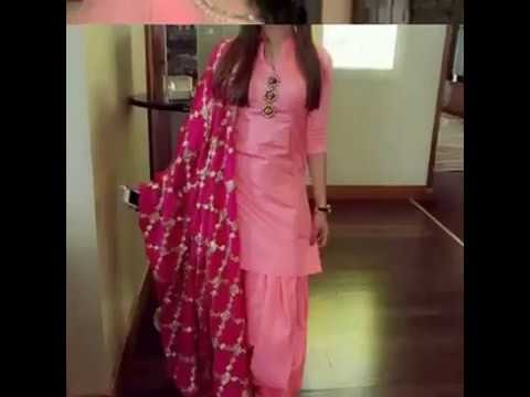 Latest Colllection Of Pink Colour Punjabi Suits Part 2
