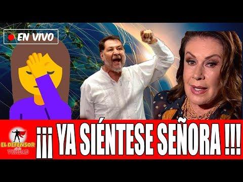 Laura Zapata Pierde La Cabeza y Llama Loco y Ratero a AMLO: Noroña La Ridiculiza yLa Pone EnSu Lugar thumbnail