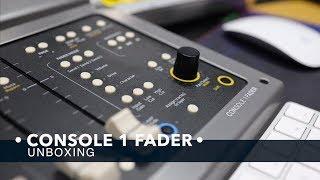 국내 최초!! 콘솔 1 페이더 언박싱 / Softube - Console1 Fader Unboxing