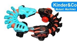 Hot Wheels Mutant Machines  обзор машинок мутантов Kinder&Co