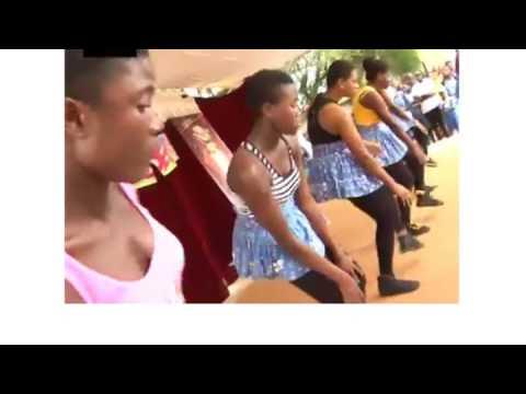 Accra High School  flawless Dance Crew 1